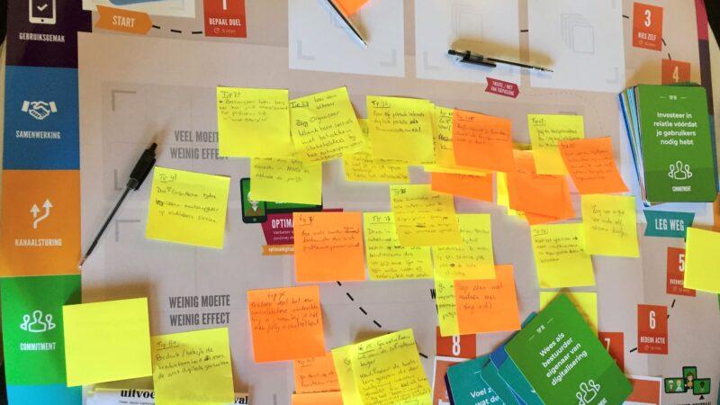 Link naar Optimaal Digitaal: van conversation starter tot waardevolle inzichten en concrete acties