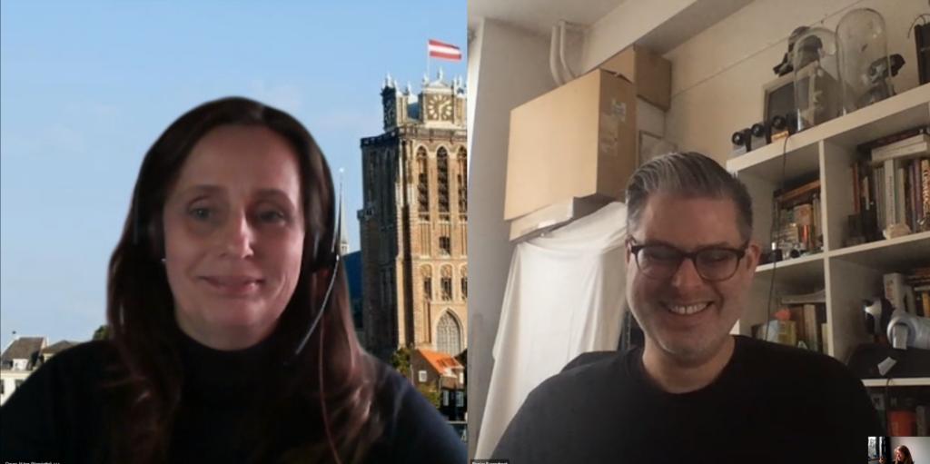 Deelnemers Rogier en Henriëtte bij de Optimaal Digitaal spelleider training