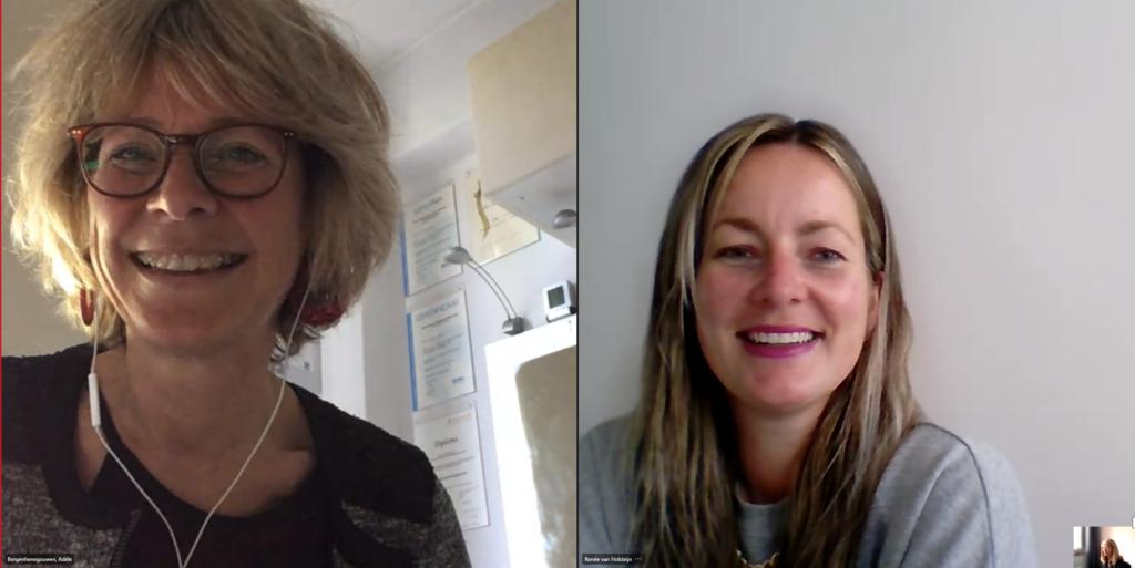 Deelnemers OD online spelleidertraining 2021-05-18: Adèle Bergenhenegouwen, René van Holsteijn